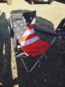 Flag Camping Chair